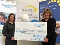 Fairways dementia care centres raise £1,000 for Alzheimer's Society