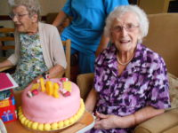 Mrs Wright celebrates 104 years of life!