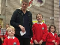 School Children name Fairways Newydd's new Households