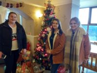 Holyhead school volunteers entertain clients in Fairways