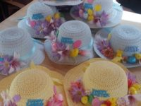 Latest pictures of the Easter Bonnet Competition at Ceris Newydd and Glyn Menai